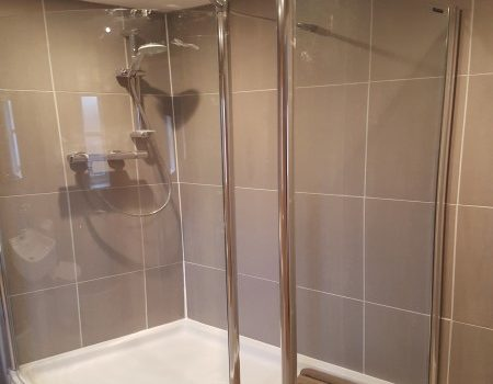 End Of Tenancy Clean Fishergate Norwich Ensuite Shower Cubicle