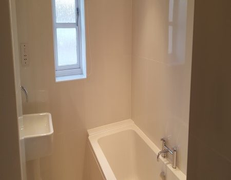 End Of Tenancy Clean Fishergate Norwich Main Bathroom and Sink